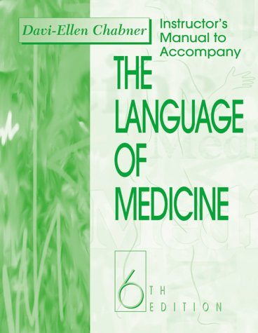 9780721685700: The Language of Medicine