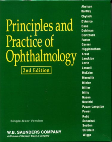9780721686141: Principles and Practice of Ophthalmology (CD-ROM for Windows & Macintosh, Individual Version)