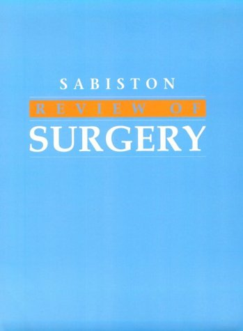9780721686714: Sabiston's Review of Surgery