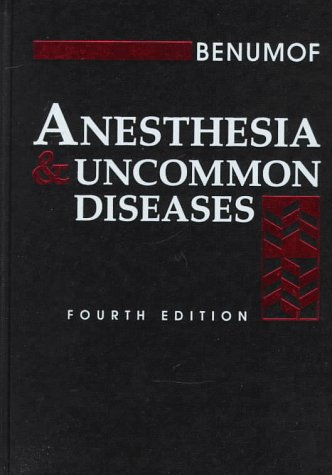 9780721686738: Anesthesia & Uncommon Diseases