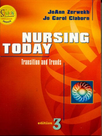 9780721686851: Nursing Today: Transition and Trends
