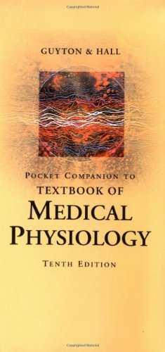 9780721687292: Pocket Companion to Textbook of Medical Physiology