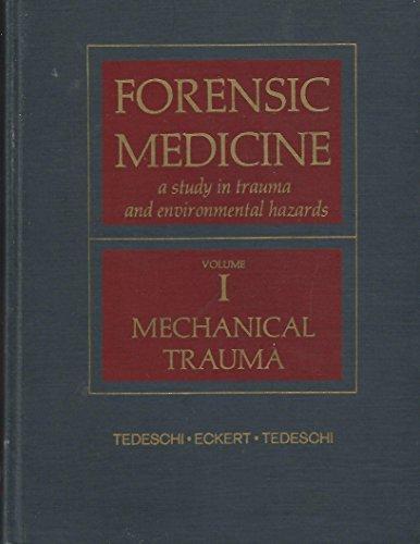 9780721687728: Forensic Medicine: Medicinal Trauma v. 1