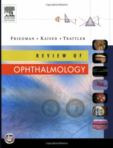 9780721687766: Review of Ophthalmology: Expert Consult - Online and Print