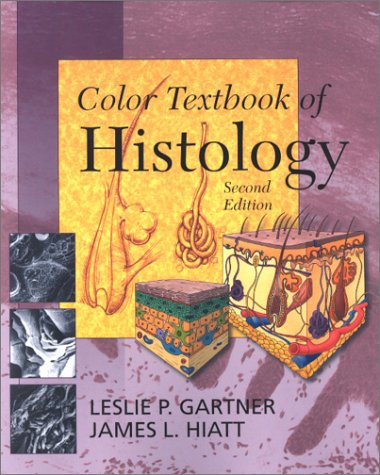 9780721688060: Color Textbook of Histology