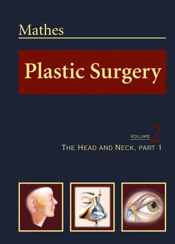 9780721688138: Plastic Surgery, Vol. 2: The Head and Neck, Part 1