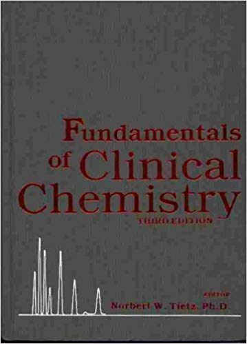 Fundamentals of Clinical Chemistry, Third Edition: Tietz (Ed.) , Norbert W.