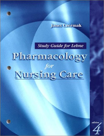 9780721688770: Study Guide for Lehne Pharmacology for Nursing Care