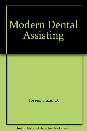 9780721688886: Modern Dental Assisting