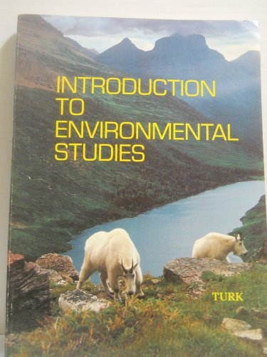 9780721689197: Introduction to Environmental Studies