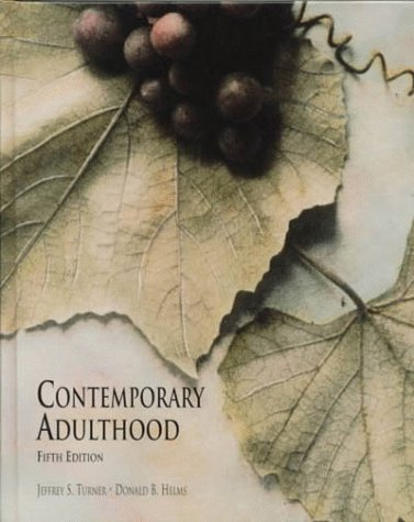 9780721689357: Contemporary Adulthood