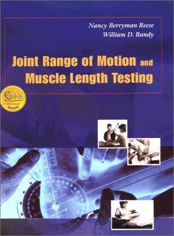 9780721689425: Joint Range of Motion and Muscle Length Test