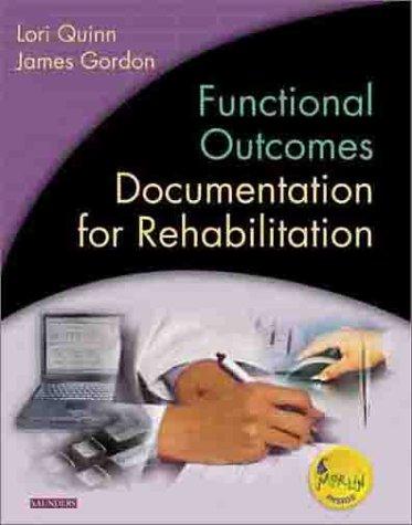 9780721689470: Functional Outcomes Documentation for Rehabilitation, 1e