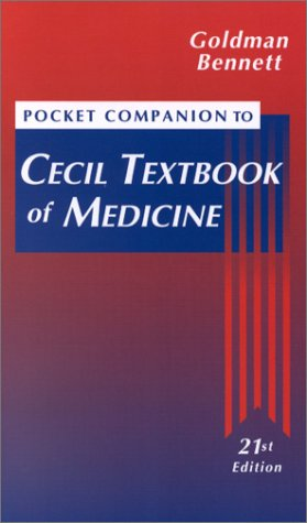 Pocket Companion to Cecil Textbook of Medicine: Goldman MD, Lee;