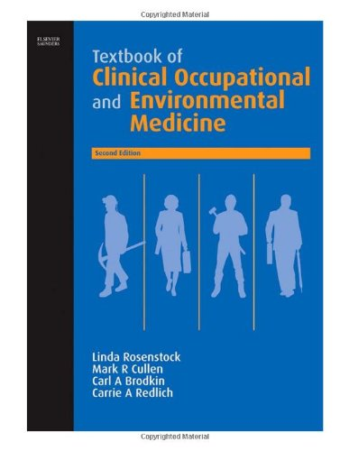 9780721689746: Textbook of Clinical Occupational and Environmental Medicine