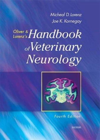 9780721689869: Handbook of Veterinary Neurology, 4e