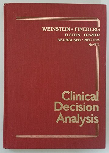 9780721691664: Clinical Decision Analysis