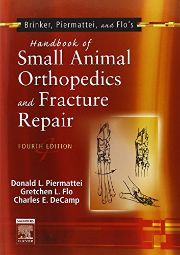 9780721692142: Brinker, Piermattei and Flo's Handbook of Small Animal Orthopedics and Fracture Repair, 4e