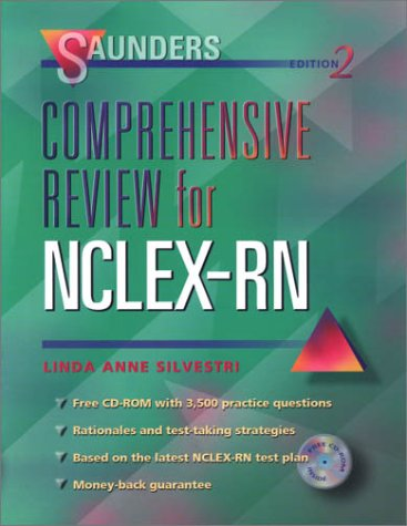 9780721692357: Saunders Comprehensive Review for NCLEX/RN