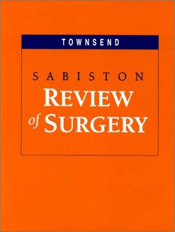 9780721692586: Sabiston Review of Surgery, 3e