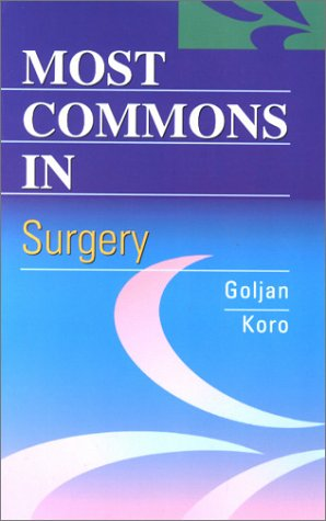 9780721692913: Most Commons in Surgery