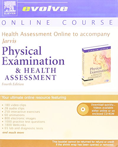 Health Assessment Online to Accompany Physical Examination: Carolyn Jarvis PhD