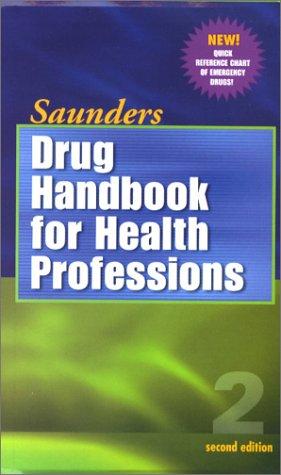 9780721693651: Saunders Drug Handbook For Health Professionals