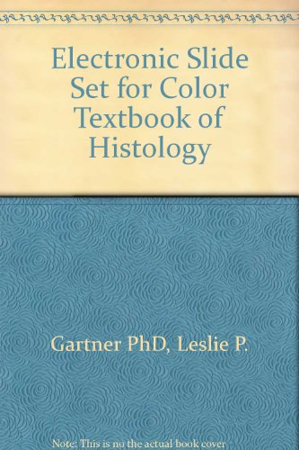 9780721695617: Electronic Slide Set for Color Textbook of Histology