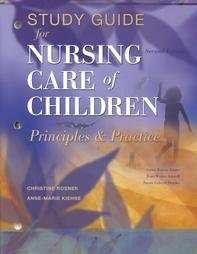 Study Guide to Accompany Nursing Care of: Jean Ashwill; Anne-Marie