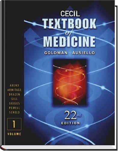 9780721696522: Cecil Textbook of Medicine: Single Volume (Cecil Medicine)