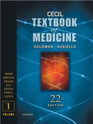 9780721696539: Cecil Textbook of Medicine ; Two Volume Set