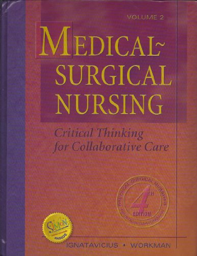9780721696775: Medical-Surgical Nursing: Critical Thinking for Collaborative Care Volume 2
