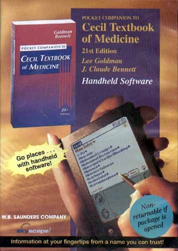 9780721697147: Pocket Companion to Cecil Textbook of Medicine, 21st Edition (CD-ROM for PDA)