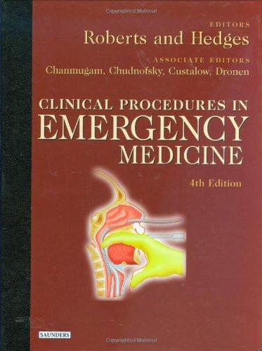 9780721697604: Clinical Procedures in Emergency Medicine, 4e