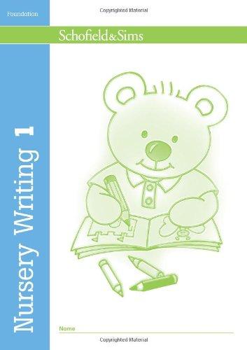 9780721708195: Nursery Writing Book 1: Bk. 1