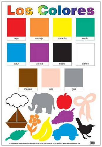 9780721709031: Los Colores (Colour Chart) (Laminated Poster)