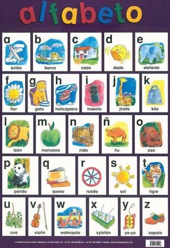 9780721709048: Alfabeto (Alphabet) (Laminated Poster)