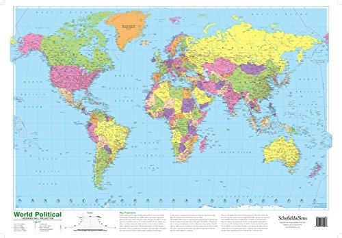 9780721709277: World Political Map