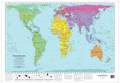 9780721709338: Peters World Map (Laminated Poster)