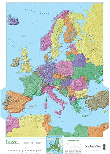 9780721709345: Map of Europe