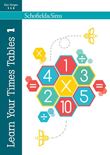 9780721711287: Learn Your Times Tables 1: KS1/KS2 Maths, Ages 5-8