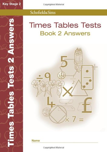 9780721711379: Times Tables Tests Answers Book 2