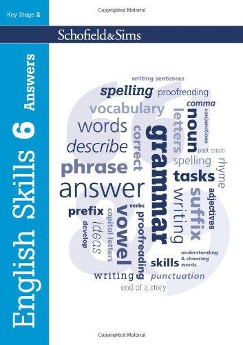 9780721711867: English Skills Answers Book 6
