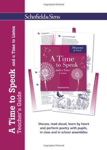 A Time to Speak and a Time to Listen Teacher's Guide (9780721712062) by Celia Warren