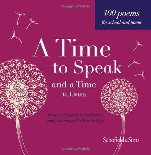 A Time to Speak and a Time to Listen Hardback (9780721712253) by Warren Celia (compiler)