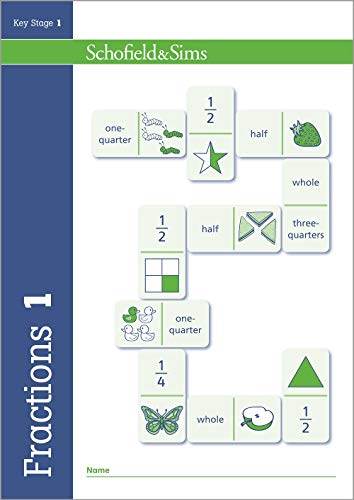9780721713755: Fractions, Decimals and Percentages Book 1: Year 1, Ages 5-6