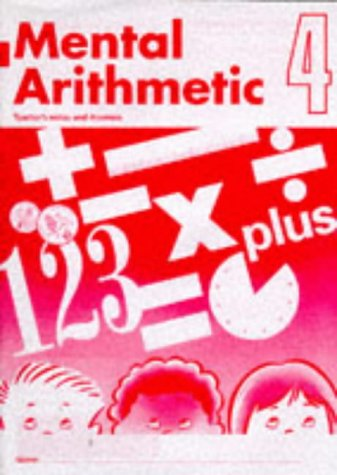 9780721722481: Mental Arithmetic: Tchrs' Bk. 4