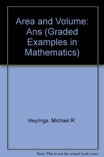 9780721723280: Area and Volume: Ans (Graded Examples in Mathematics)