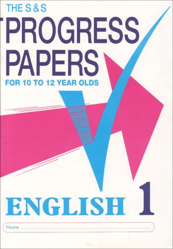 9780721746692: S and S Progress Papers: English 1: For 10 to 12 Year Olds (The S & S progress papers)