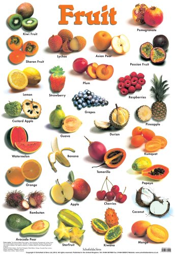 9780721755229: Fruit (Laminated posters)